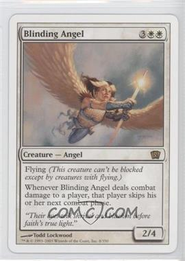 2003 Magic: The Gathering - Core Set: 8th Edition Booster Pack [Base] #8 - Blinding Angel