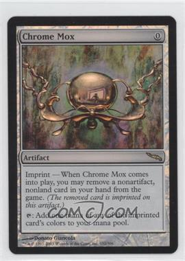 2003 Magic: The Gathering - Mirrodin - Booster Pack [Base] - Foil #152 - Chrome Mox