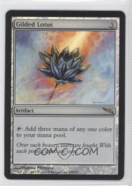 2003 Magic: The Gathering - Mirrodin Booster Pack [Base] Foil #175 - Gilded Lotus