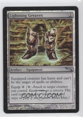 2003 Magic: The Gathering - Mirrodin Booster Pack [Base] Foil #199 - Lightning Greaves