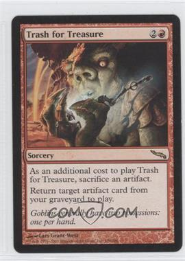2003 Magic: The Gathering - Mirrodin Booster Pack [Base] #109 - Trash for Treasure