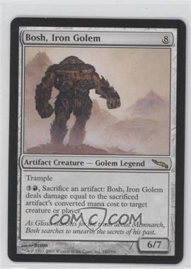 2003 Magic: The Gathering - Mirrodin Booster Pack [Base] #147 - Bosh, Iron Golem