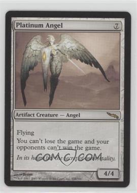 2003 Magic: The Gathering - Mirrodin Booster Pack [Base] #228 - Platinum Angel