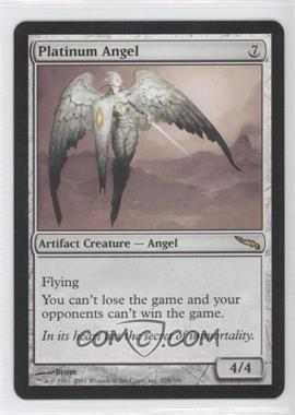 2003 Magic: The Gathering - Mirrodin Booster Pack [Base] #228 - Platinum Angel