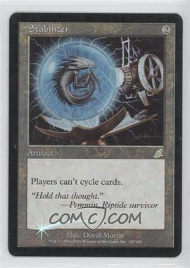 2003 Magic: The Gathering - Scourge - Booster Pack [Base] - Foil #142 - Stabilizer