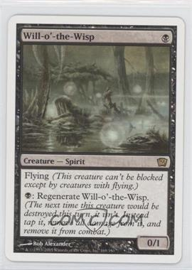 2005 Magic: The Gathering - Core Set: 9th Edition Booster Pack [Base] #169 - Will-o'-the-Wisp