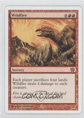 2005 Magic: The Gathering - Core Set 9th Edition Booster Pack [Base] #228 - Wildfire