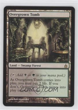 2005 Magic: The Gathering - Ravnica: City of Guilds Booster Pack [Base] #279 - Overgrown Tomb