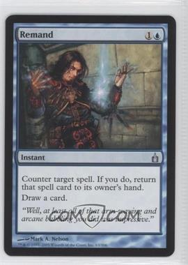 2005 Magic: The Gathering - Ravnica: City of Guilds Booster Pack [Base] #63 - Remand