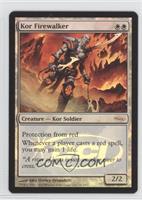 Kor Firewalker (Gateway Foil)