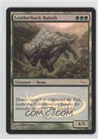 Leatherback Baloth (Wizards Play Network - Foil)