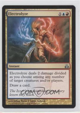 2006 Magic: The Gathering - Guildpact - Booster Pack [Base] #111 - Electrolyze