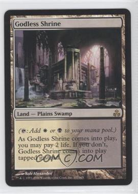 2006 Magic: The Gathering - Guildpact Booster Pack [Base] #157 - Godless Shrine