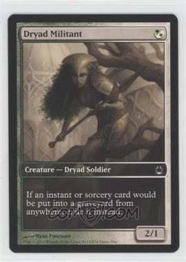 2007-Now Magic: The Gathering - - Gameday Promos #214 - Dryad Militant (Return to Ravnica - Full Art)