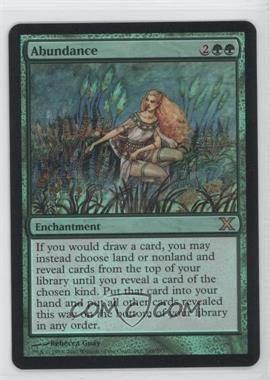 2007 Magic: The Gathering - Core Set 10th Edition Booster Pack [Base] Foil #249 - Abundance
