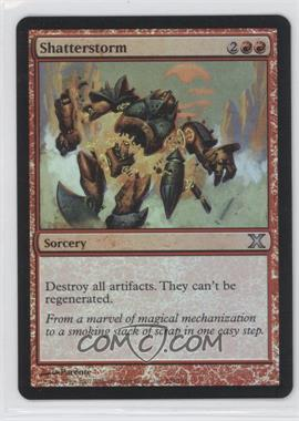 2007 Magic: The Gathering - Core Set: 10th Edition Booster Pack [Base] Foil #329 - Shatterstorm