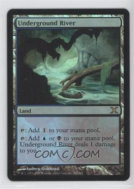 2007 Magic: The Gathering - Core Set: 10th Edition Booster Pack [Base] Foil #362 - Underground River