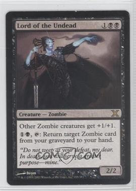 2007 Magic: The Gathering - Core Set: 10th Edition Booster Pack [Base] #155 - Lord of the Undead