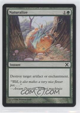 2007 Magic: The Gathering - Core Set: 10th Edition Booster Pack [Base] #282 - Naturalize
