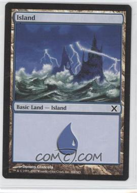 2007 Magic: The Gathering - Core Set: 10th Edition Booster Pack [Base] #368 - Island