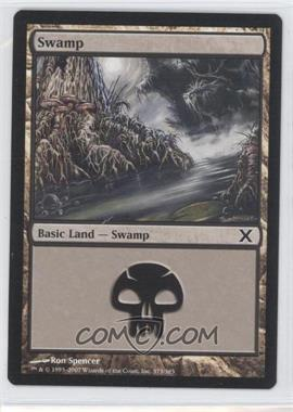2007 Magic: The Gathering - Core Set 10th Edition Booster Pack [Base] #373 - Swamp