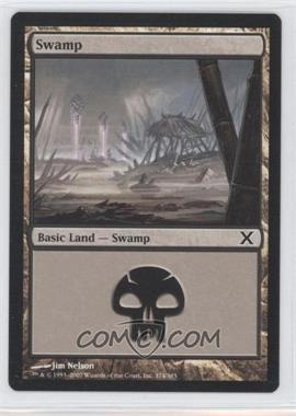 2007 Magic: The Gathering - Core Set: 10th Edition Booster Pack [Base] #374 - Swamp