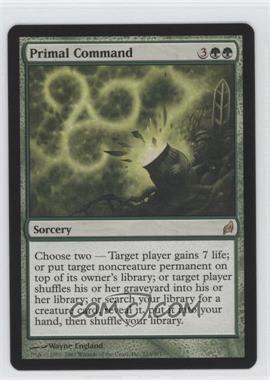 2007 Magic: The Gathering - Lorwyn Booster Pack [Base] #233 - Primal Command