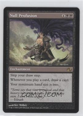 2007 Magic: The Gathering - Planar Chaos - Booster Pack [Base] #89 - Null Profusion