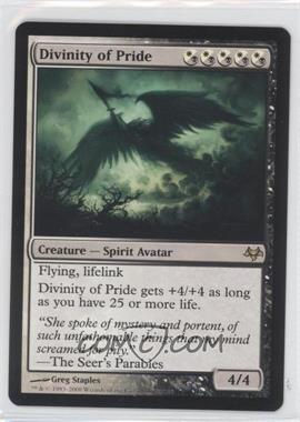 2008 Magic: The Gathering - Eventide Booster Pack [Base] #N/A - Divinity of Pride