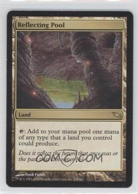 2008 Magic: The Gathering - Shadowmoor - Booster Pack [Base] #278 - Reflecting Pool
