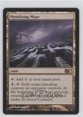 2010 Magic: The Gathering - Core Set: 2011 Booster Pack [Base] #226 - Mystifying Maze