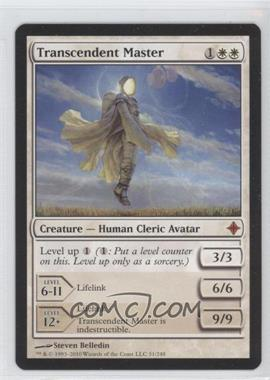 2010 Magic: The Gathering - Rise of the Eldrazi - Booster Pack [Base] #51 - Transcendent Master