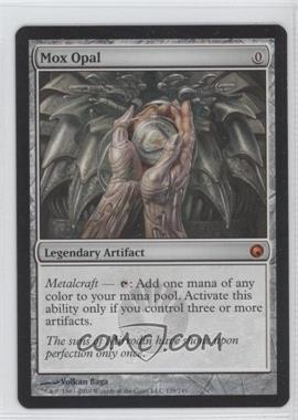 2010 Magic: The Gathering - Scars of Mirrodin - Booster Pack [Base] #179 - Mox Opal