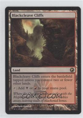 2010 Magic: The Gathering - Scars of Mirrodin - Booster Pack [Base] #224 - Blackcleave Cliffs