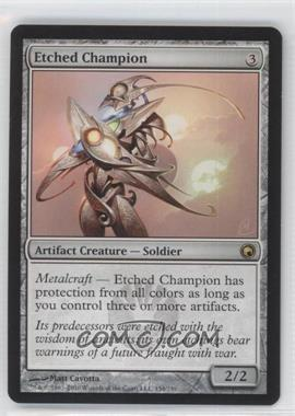 2010 Magic: The Gathering - Scars of Mirrodin Booster Pack [Base] #154 - Etched Champion