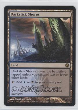 2010 Magic: The Gathering - Scars of Mirrodin Booster Pack [Base] #226 - Darkslick Shores