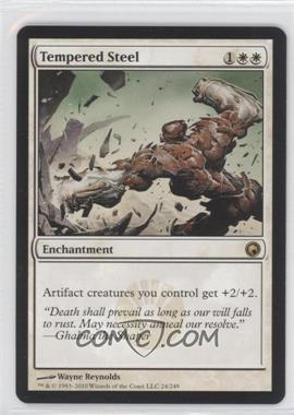 2010 Magic: The Gathering - Scars of Mirrodin Booster Pack [Base] #24 - Tempered Steel