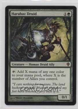 2010 Magic: The Gathering - Worldwake - Booster Pack [Base] #105 - Harabaz Druid