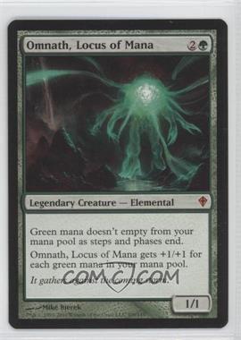 2010 Magic: The Gathering - Worldwake - Booster Pack [Base] #109 - Omnath, Locus of Mana