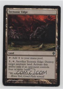 2010 Magic: The Gathering - Worldwake - Booster Pack [Base] #145 - Tectonic Edge