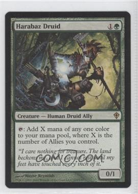 2010 Magic: The Gathering - Worldwake Booster Pack [Base] #105 - Harabaz Druid