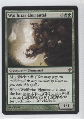 2010 Magic: The Gathering - Worldwake Booster Pack [Base] #118 - Wolfbriar Elemental