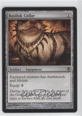 2010 Magic: The Gathering - Worldwake Booster Pack [Base] #122 - Basilisk Collar