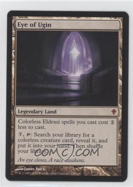 2010 Magic: The Gathering - Worldwake Booster Pack [Base] #136 - Eye of Ugin