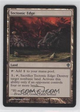 2010 Magic: The Gathering - Worldwake Booster Pack [Base] #145 - Tectonic Edge