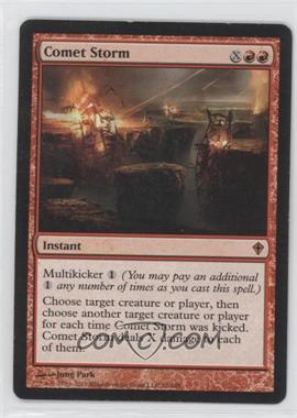 2010 Magic: The Gathering - Worldwake Booster Pack [Base] #76 - Comet Storm