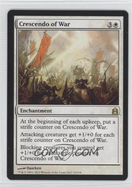 2011 Magic: The Gathering - - Commander Format #12 - Crescendo of War
