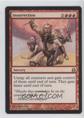 2011 Magic: The Gathering - - Commander Format #126 - Insurrection
