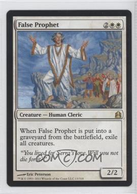 2011 Magic: The Gathering - - Commander Format #13 - False Prophet