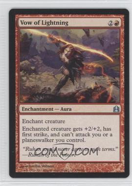 2011 Magic: The Gathering - - Commander Format #138 - Vow of Lightning